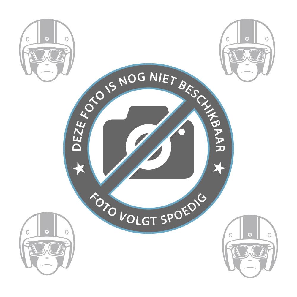 Scott Hustle MX Goggle Cracked blue/red silver chrome lens