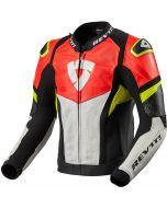 REV'IT Hyperspeed Air Jacket Black/Neon Red