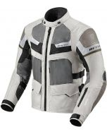 REV'IT Cayenne Pro Jacket Light Grey/Green