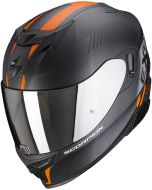 Scorpion EXO-520 AIR Laten Matt Black/Orange