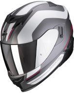 Scorpion EXO-520 AIR Lemans Matt Silver/Red