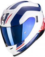 Scorpion EXO-520 AIR Lemans White/Blue/Red