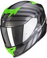 Scorpion EXO-520 AIR Shade Black/Green