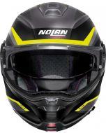 Nolan N100-5 Plus Overland N-Com Flat Lava Grey/Yellow 33