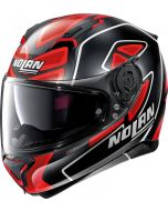Nolan N87 Gemini Replica N-Com D.Petrucci - Flat Black/Red 109