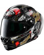 X-Lite X-803 RS ULTRA CARBON Holeshot Black/Gold/Red 35