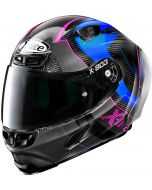 X-Lite X-803 RS ULTRA CARBON Tatanka Black/Grey/Blue/Pink 43