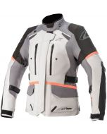 Alpinestars Stella Andes V3 Drystar Jacket Ice Gray/Dark Gray/Black Coral 9193