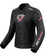 REV'IT Sprint H2O Ladies Jacket Black/Pink