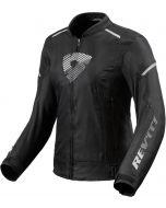 REV'IT Sprint H2O Ladies Jacket Black/White