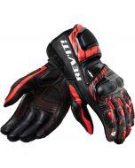 REV'IT Quantum 2 Gloves Neon Red/Black