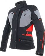 Dainese Carve Master 2 Lady Gore-Tex Jacket Black/Frost Grey/Red Z03