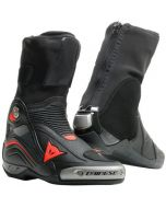 Dainese Axial D1 Air Boots Black/Fluo Red 628