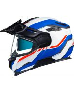 NEXX X.VILIJORD Continental White/Blue/Red