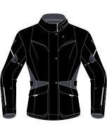 Dainese Tempest 3 D-Dry Lady Jacket Black/Black/Ebony Y21