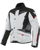 Dainese Tempest 3 D-Dry Jacket Glacier Gray/Black/Lava Red 45G