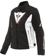 Dainese Veloce D-Dry Lady Jacket Black/White/Lava Red A66