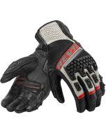 REV'IT Sand 3 Gloves Black/Red