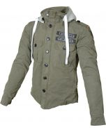 Booster Core kevlar hoodie Army Green 404