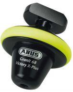 ABUS GRANIT Victory X Plus 68 ART4 Schijfremslot Geel Half