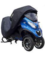 DS Covers Alfa 3W motor-/scooterhoes met topkoffer