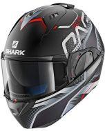 Shark Evo-One 2 Keenser Matt Black/Silver/Red KSR