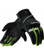 REV'IT Mosca Gloves Black/Neon Yellow