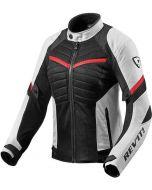 REV'IT Arc Air Ladies Jacket White/Red