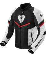 REV'IT Arc Air Jacket White/Red