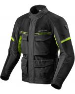 REV'IT Outback 3 Jacket Black/Neon Yellow