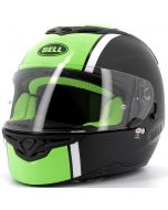 BELL RS2 Rally Gloss Black/White Hi-Viz Yellow