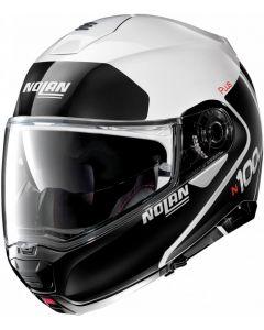 Nolan N100-5 Plus Distinctive N-Com Metal White 022