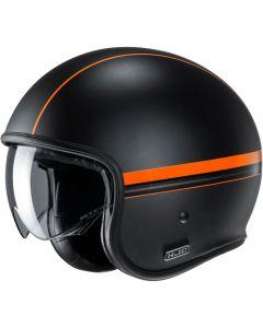 HJC V30 Equinox Orange 133