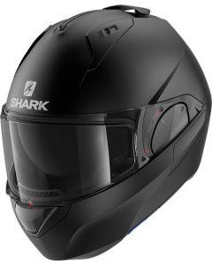 Shark Evo ES Blank Matt Black KMA