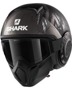Shark Street Drak Crower Matt Black/Anthracite/Silver KAS