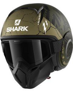 Shark Street Drak Crower Matt Green/Black/Green GKG