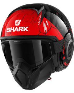 Shark Street Drak Crower Black/Anthracite/Red KAR