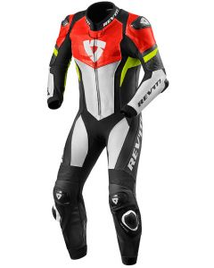 REV'IT Hyperspeed One Piece Neon Red/Neon Yellow