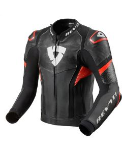 REV'IT Hyperspeed Pro Jacket Black/Neon Red