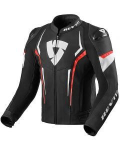 REV'IT Glide Jacket Black/Neon Red