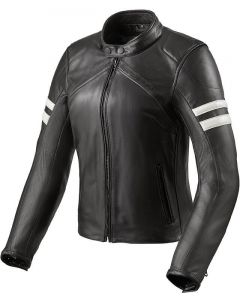 REV'IT Meridian Jacket Ladies Black/White