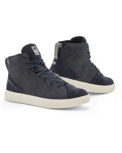 REV'IT Delta H2O Shoes Dark Blue/White