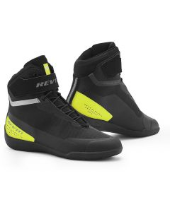REV'IT Mission Shoes Black/Neon Yellow