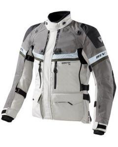 REV'IT Dominator GTX Jacket Light Grey/Green