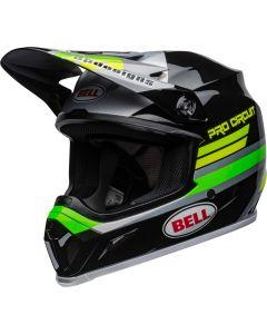 BELL MX-9 Mips Pro Circuit 2020 Zwart/Groen