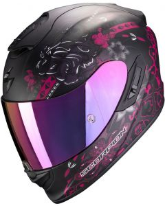 Scorpion EXO-1400 AIR Toa Matt Black/Pink
