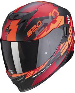 Scorpion EXO-520 AIR Cover Matt Black/Red