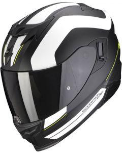 Scorpion EXO-520 AIR Lemans Matt Black/Silver/White