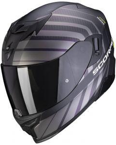 Scorpion EXO-520 AIR Shade Matt Black/Neon Yellow