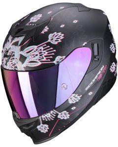 Scorpion EXO-520 AIR Tina Matt Black/Silver